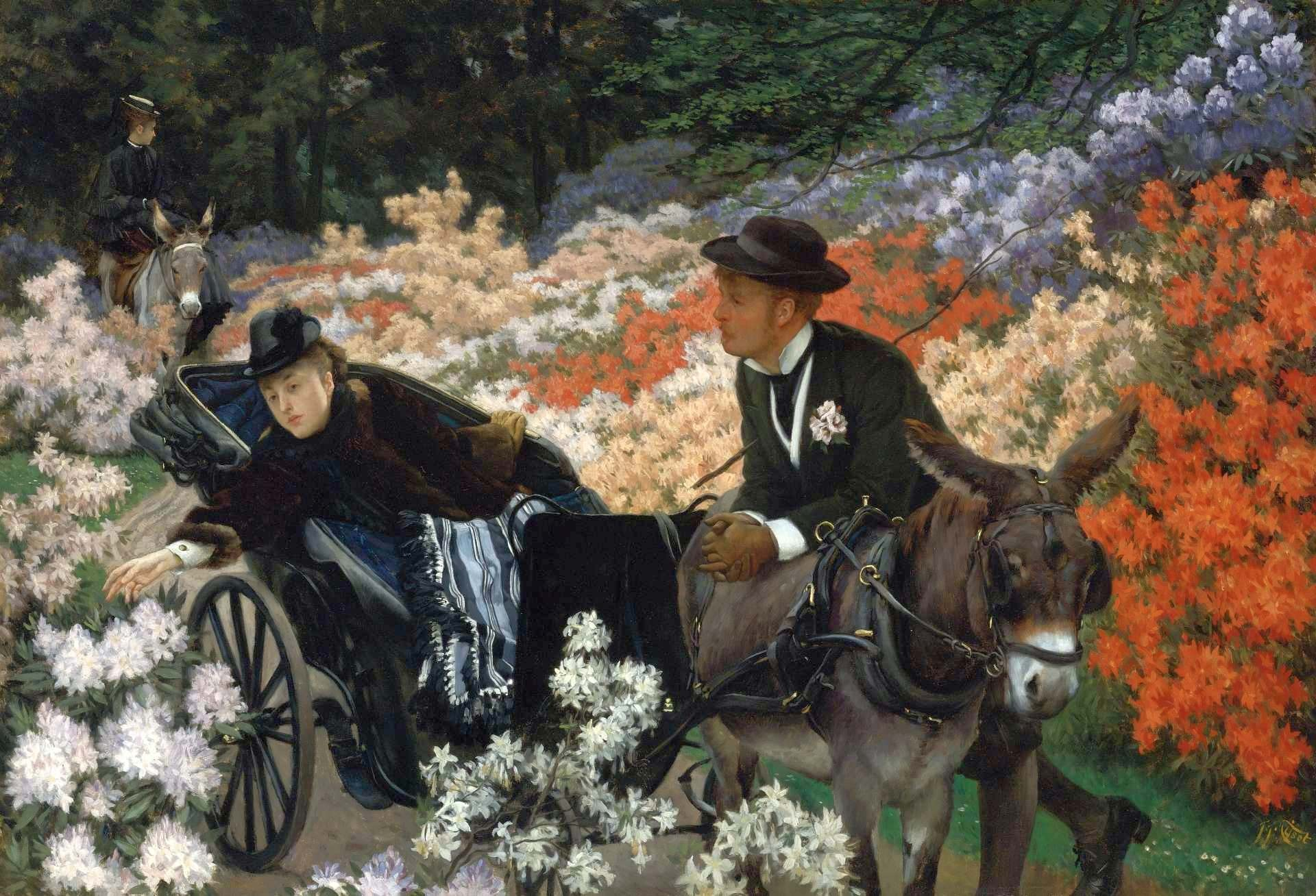 The Morning Ride, James Jaques Tissot